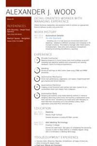 Car Detailer Resume by Detailer Resume Sles Visualcv Resume Sles Database