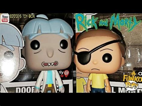 Evil Morty Pop Vinyl - rick and morty gamestop exclusive evil morty and doofus