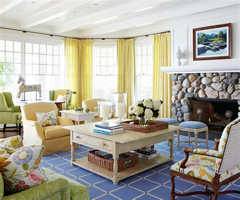 Decorating Ideas Casual Living Rooms Turn On The Charm With Cottage Style Decorating