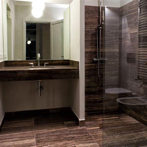 bagni in travertino bathroom pietre di rapolano