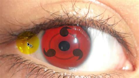 imagenes de ojos sharingan como hacer el ojo sharingan de naruto bien explicado