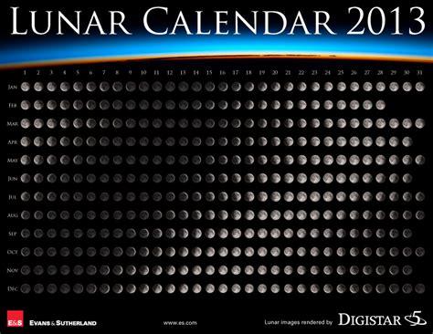 Calendario Lunar 2013 Lunar Calendar 2013 Deskarati