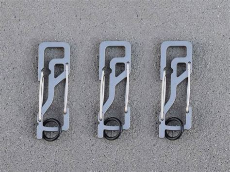 bargains 52 off picture photo frame hanging hidden hook hanger key titan kt5 carabiner 3 pack silver walyou deals