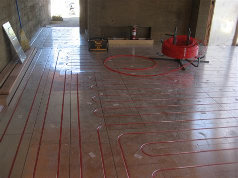 sub floor installing radiant floor heating bend oregon bend heating