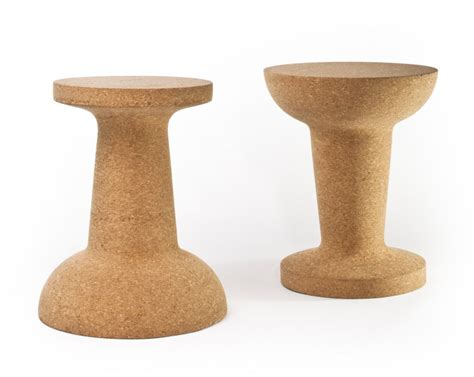 Chagne Cork Stool by Pushpin By Kenyon Yeh For Cooima Karmatrendz