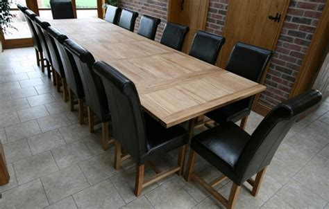 Oversized Dining Room Tables Oversized Oak Refectory Dining Table Home Interiors