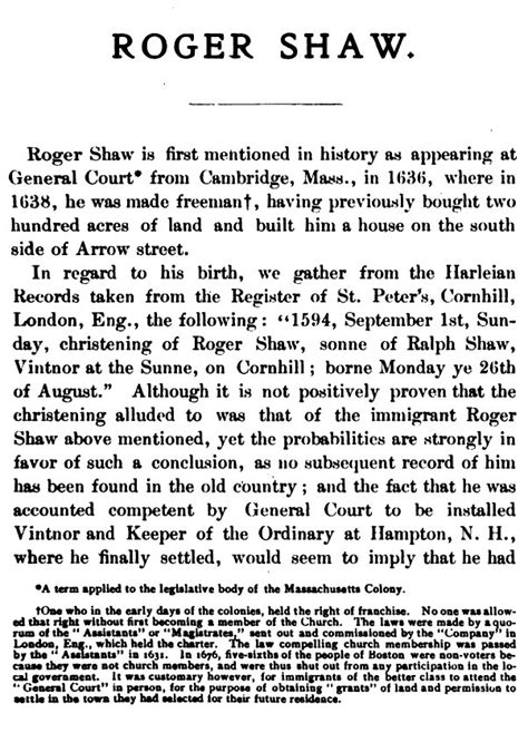shaw records a memorial of roger shaw 1594 1661 classic reprint books roger shaw miner descent