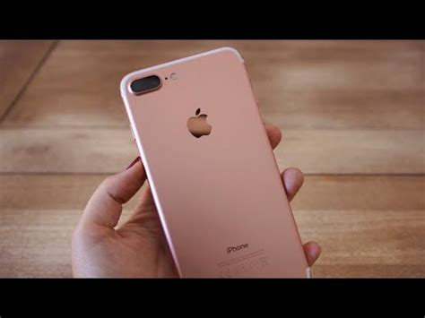 apple iphone 7 plus rosa 128 gb ios 12 unboxing en espa 241 ol 2019