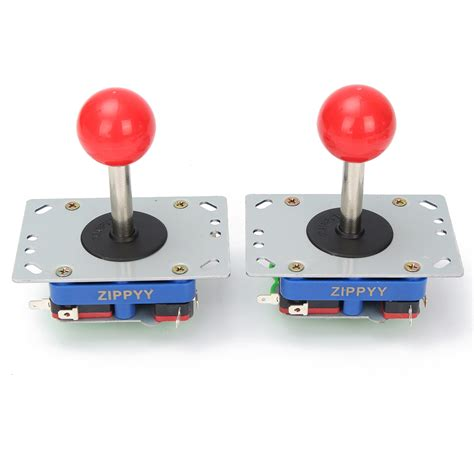 Joystick Usb Single arcade machines led arcade usb joystick push button with micro switch usb encoder diy kit was
