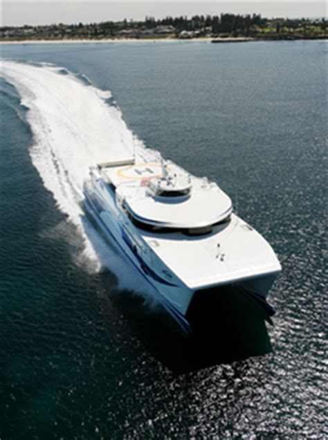 fastest catamaran ferry austal completes trials on world s fastest diesel ferry