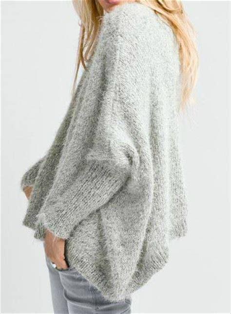 Modele De Poncho A Tricoter