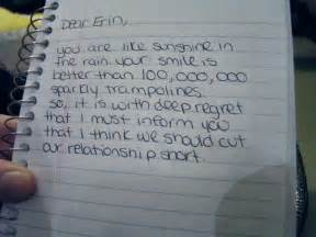 Break Up Letter Video These Breakup Letters Are The Best And Worst We Ve Ever