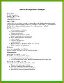 Resume Template Retail by Resume Exle For Retail Resume Format Pdf
