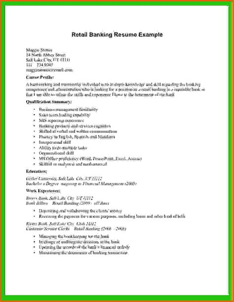 Resume Outline For Retail by Basic Cv Templates Retailreference Letters Words Reference Letters Words