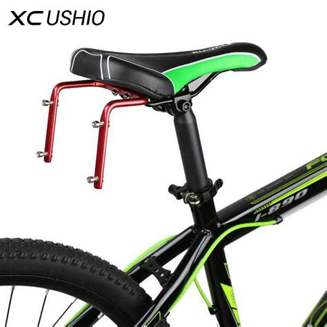 bike rack seat post adapter mountain road bike bicycle bottle container aluminum alloy