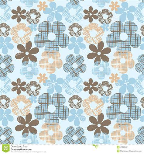 Cd Seamless Flower 3d wallpaper seamless vintage flower pattern stock vector