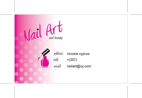 nails business cards templates free essentials business card design nail and