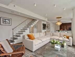 Duplex Home Interior Design Chelsea Duplex Nyc Interior Design