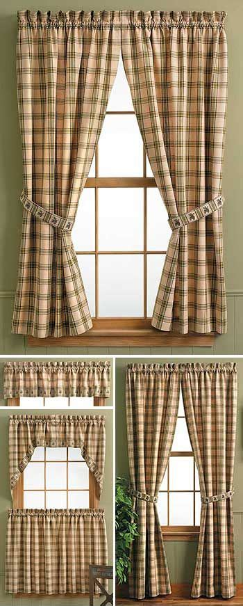 lodge style l shades 8 best rustic window treatments images on