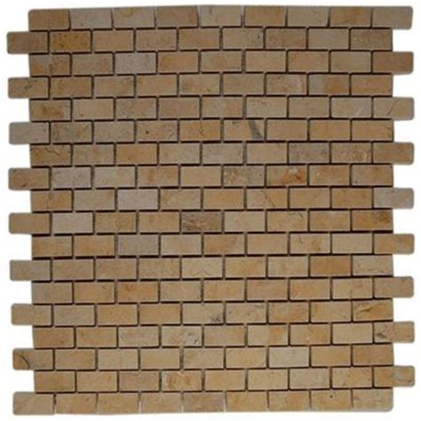 splashback tile jerusalem gold bricks 12 in x 12 in x 8