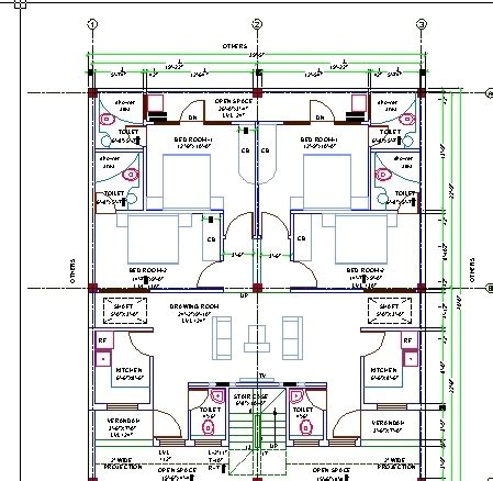 glenunga home drafting design 2d autocad house designer drawing joy studio design