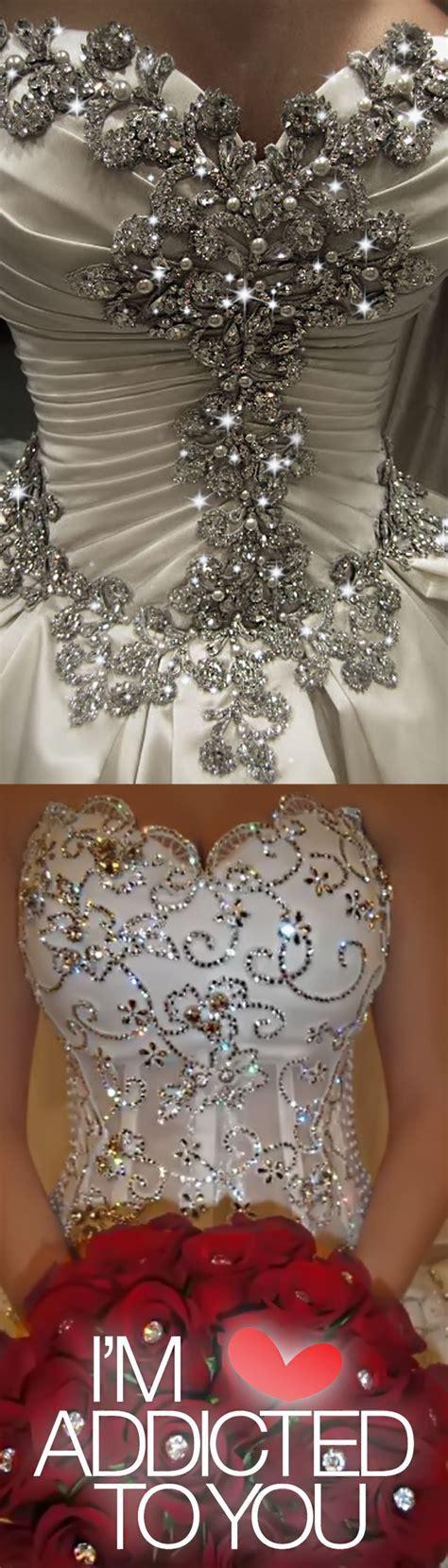 25  best ideas about Diamond Wedding Dress on Pinterest