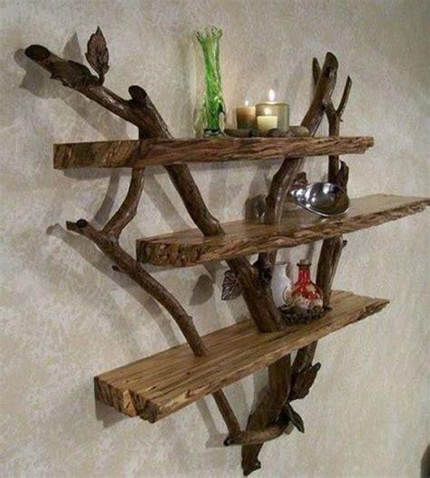 Rak Piring Kecil Dari Kayu dekorasi rumah unik dan artistik dari kayu apung