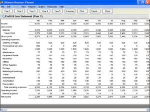 Financial Projections Template For Business Plan by Upgrade To Ultimate Business Planner Business Plan Software