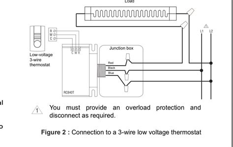 low voltage thermostat model 474053 wiring diagram free