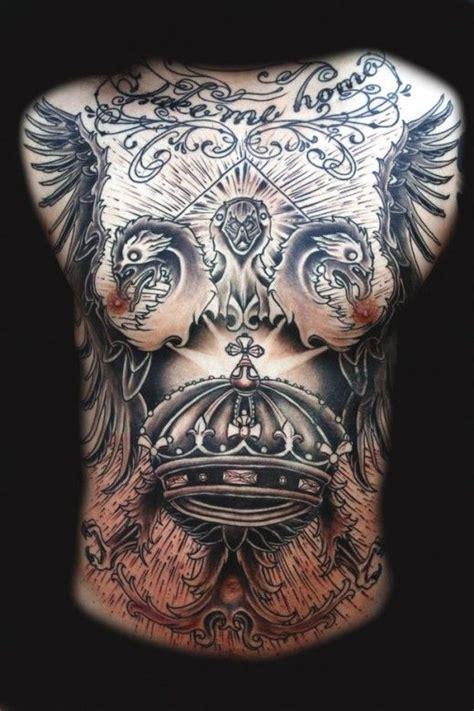 dope chest tattoos large chest augustine nezumi tattoos mehndi