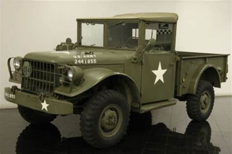 Car And Truck Talk Missouri To Use Military Acoustic Weapon To | buy used 1954 dodge m37 power wagon army military truck