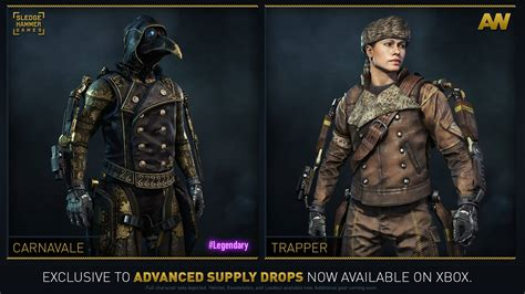all gear new gear sets added into advanced supply drop rotation on