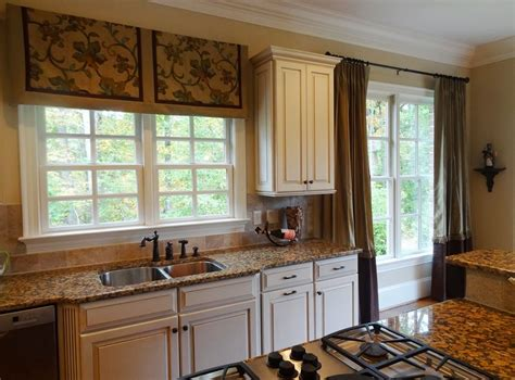 Double Small Kitchen Window Curtains Small Kitchen Curtain Design For Kitchen