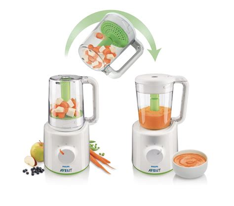 Blender Avent Philips philips avent combined steamer blender