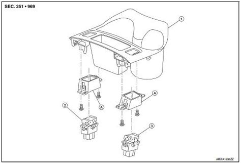 nissan rogue service manual heated seat switch removal