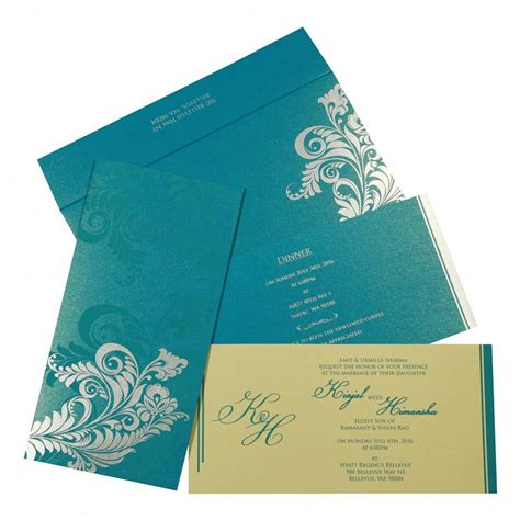 New Wedding Cards by 7 Trends Of Muslim Wedding Cards For A