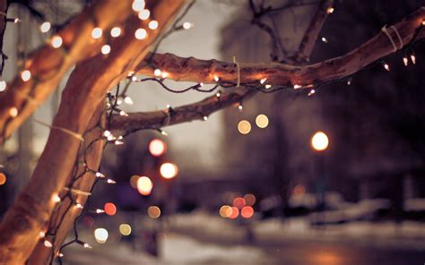 christmas lights bokeh wallpaper 2560x1600 26287