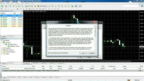 tutorial cara trading forex forex trading mt4 tutorial one click trading youtube
