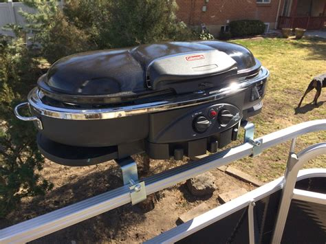 boat grill post pontoon boat grills for boats pictures to pin on pinterest