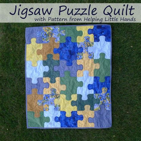 pinterest pattern puzzle pieces by polly jigsaw puzzle baby quilt free pattern