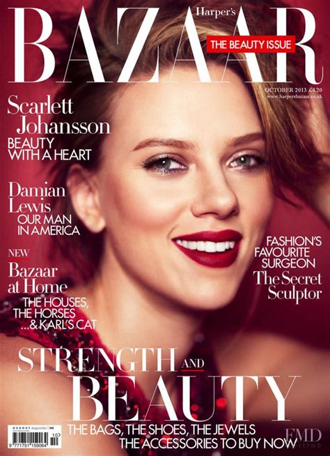 Is Cover Of Harpers Bazaar by Covers Of S Bazaar Uk With Johansson 958