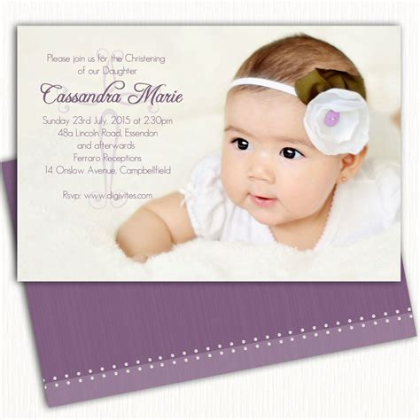 Baptism Invitations by Baptism Invitation Card Baptism Invitation Cards Sle