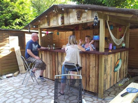 backyard tiki bar new home tiki bar in bucks uk tiki bars pinterest