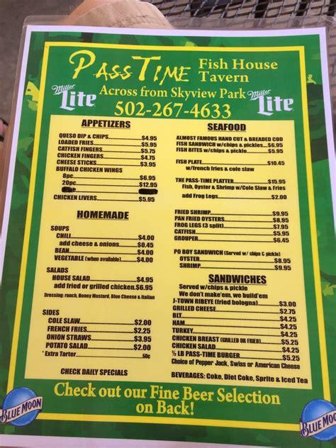 pass time fish house passtime fish house 18 fotos fischrestaurant jeffersontown louisville ky