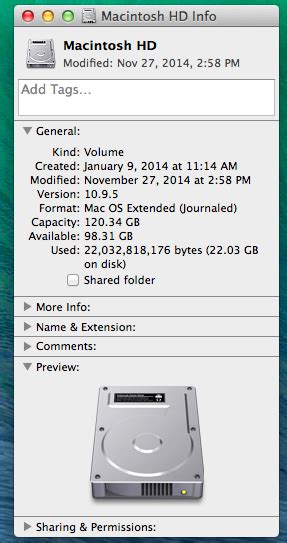 How Much Do I Have Left On My Gift Card - how much space do i have left on my hard drive mac