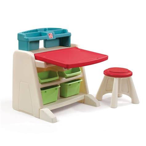 step 2 desk with chair flip doodle easel desk with stool desk step2