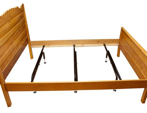 Wood Bed Frame Supports Mightylift Ultra Qpu 11 Heavy Duty Mattress Center Support System 3 Cross Rails Center Supports