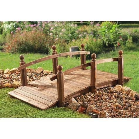wooden garden bridge innovative wooden garden bridges myhomeimprovement nurani