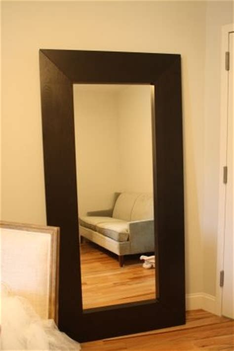 ikea mongstad floor mirror another way to hang it