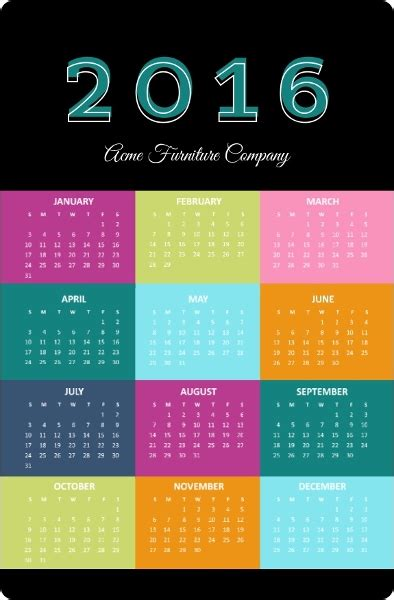 Calendar Magnets Calendar Magnets From Purpletrail